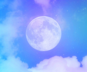 blue, cloud, and cute image