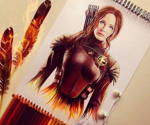 draw, drawings, and hungergames image
