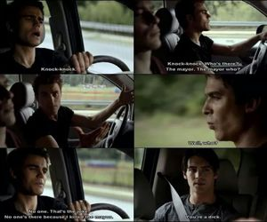 the vampire diaries, silas, and stefan salvatore image