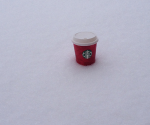 starbucks, nofilter, and winter image