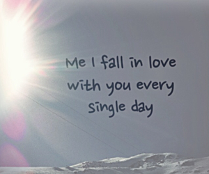 falling, x, and thinking out loud image