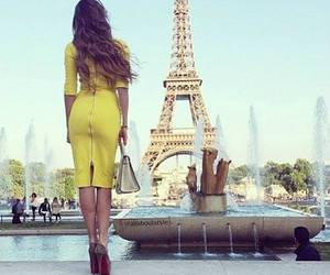fashion, paris, and yellow image