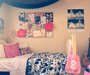bedroom, bed, and blanket image
