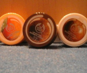 the body shop, lip butter, and yummy...! image