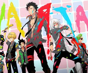 varia, katekyo hitman reborn, and anime image