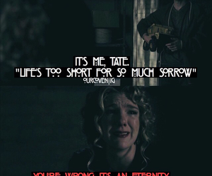 nora, quotes, and ahs image