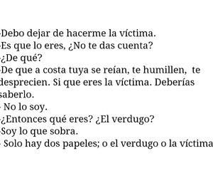 espanol, victima, and conversacion image