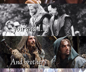 brothers, the hobbit, and thor image
