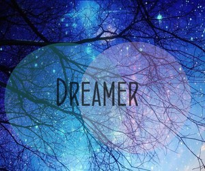 dreamer, Dream, and blue image