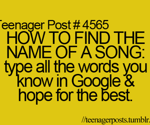 song, google, and true image