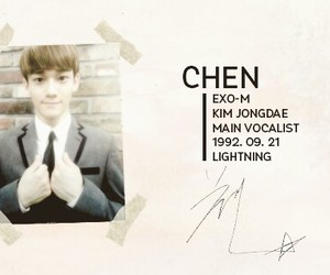 Chen, exo, and 첸 image