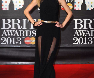 Taylor Swift, dress, and brit awards image