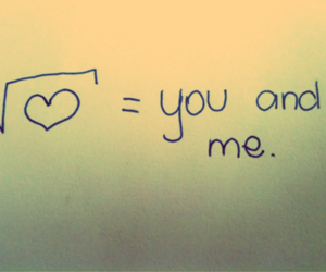 love and you and me image