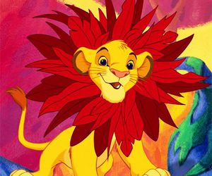 disney, simba, and the lion king image