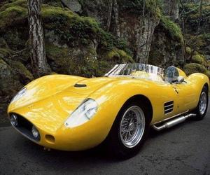 ferrari and yellow image