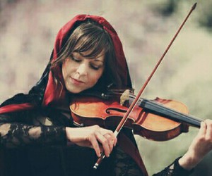 violin, music, and lindsey stirling image