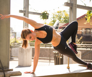 abs, plank, and sport image