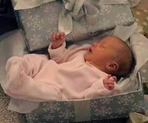 baby, home, and christmas image