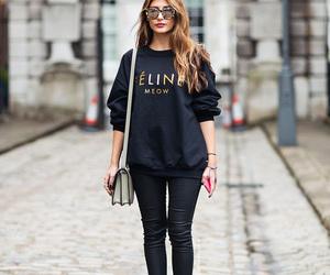 fashion, style, and celine image