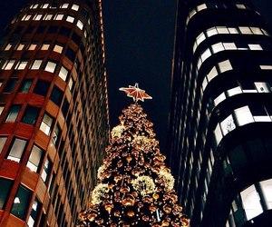 christmas and city image