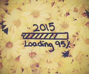 daisy, loading, and 2015 image