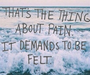 pain, tfios, and quote image
