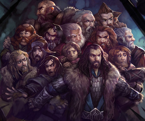 the hobbit, dwarf, and thorin image