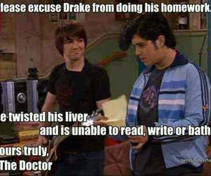 funny, drake and josh, and Drake image