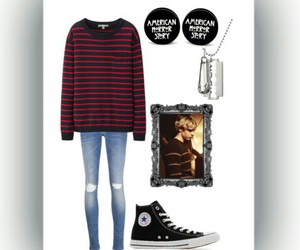 Polyvore, american horror story, and violet harmon image