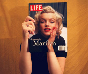 marilyn, Marilyn Monroe, and life image
