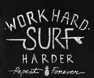 hard, harder, and surf image