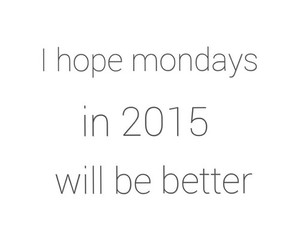 monday and 2015 image