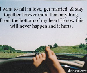 hurt, tumblr, and marriage image