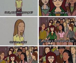 Daria, goals, and true image