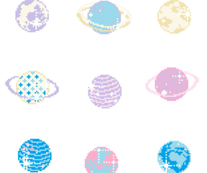 planet, cute, and pastel image