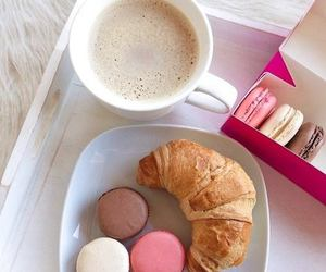 food, breakfast, and coffee image