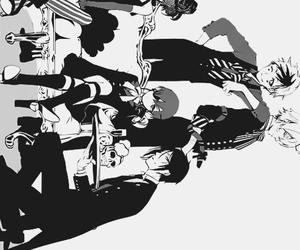 anime, b&w, and black butler image