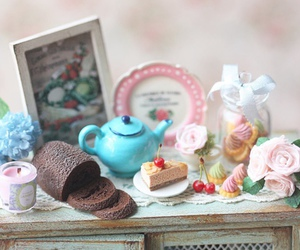 Cookies, cupcakes, and macarons image