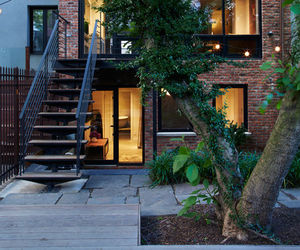 Brooklyn, brownstone, and garden image