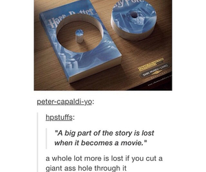 books, funny, and harry potter image