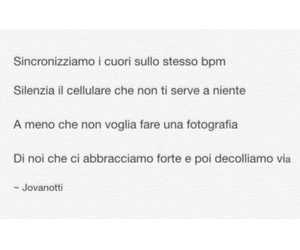 frase, italian, and Jovanotti image