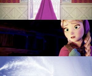 frozen, disney, and Collage image