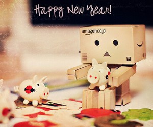 danbo, december, and new year image
