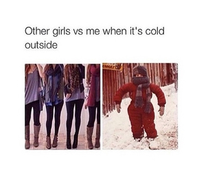 winter, cold, and funny image