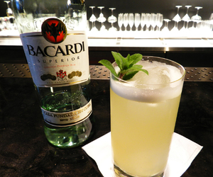 cocktail and bacardi image