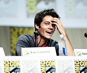 dylan o'brien, teen wolf, and comic con image