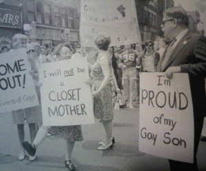 awesome, homo, and protest image