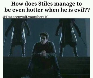 teen wolf, evil, and Hot image