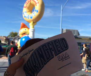 comida, donuts, and the simpsons image