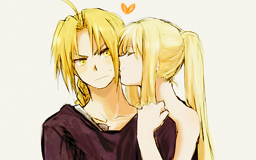 anime, edward elric, and kiss image